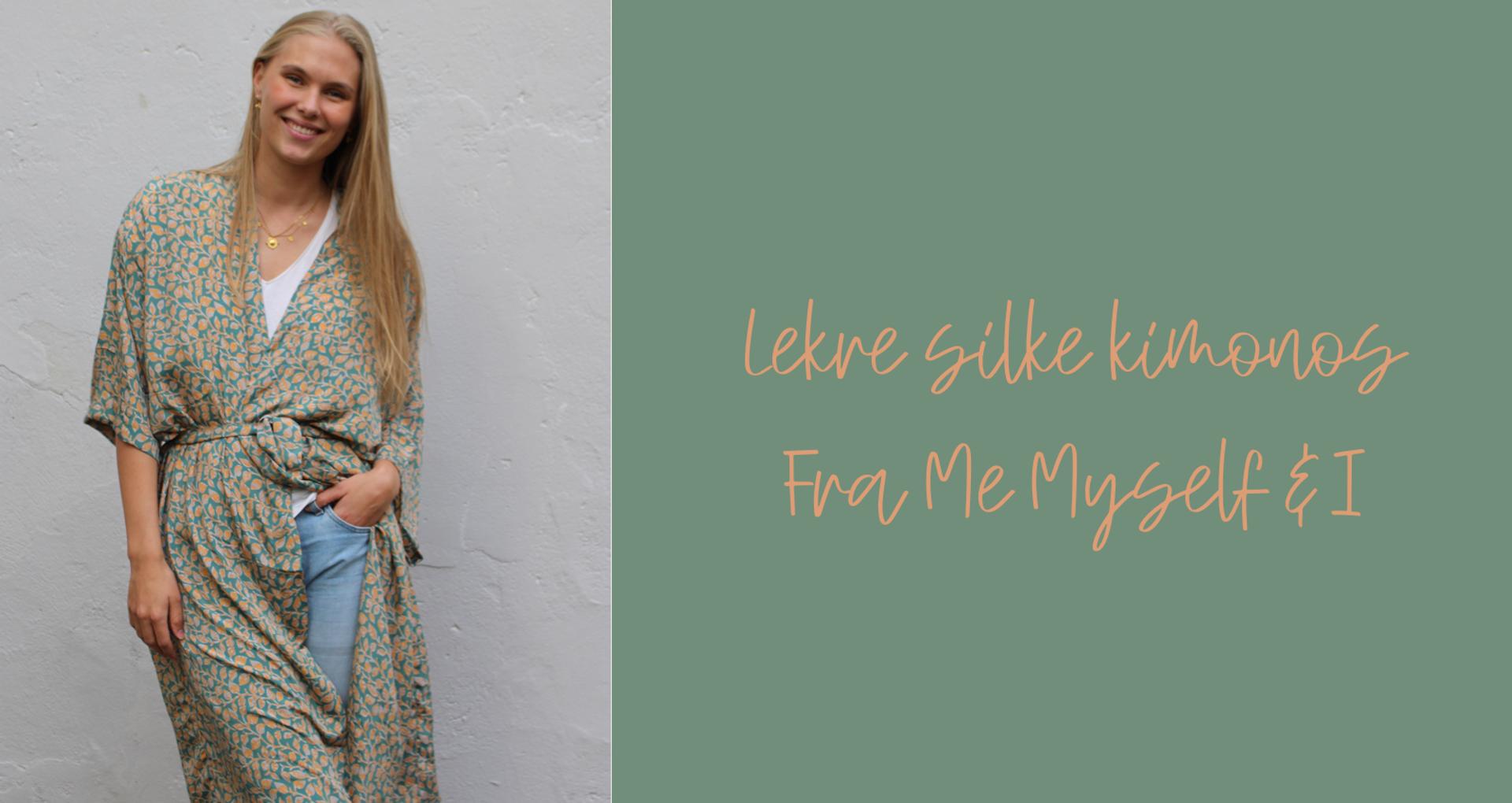 Silke kimomo laget av vintage silke sarees