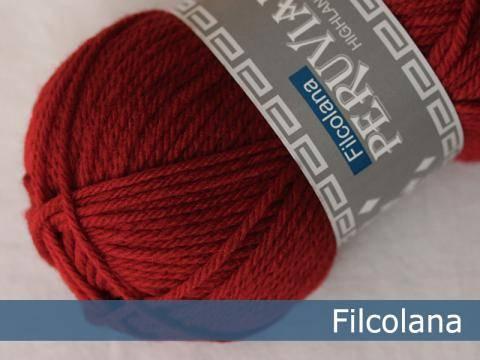 Bilde av 225 Christmas Red - Peruvian Highland Wool