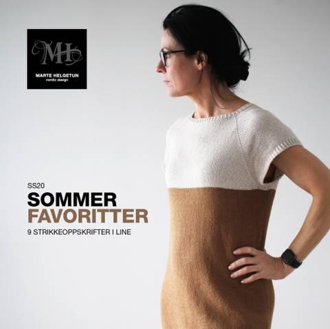 Bilde av SS20 Sommerfavoritter - 9 strikkeoppskrifter i