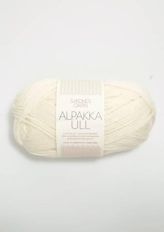 Bilde av 1002 Hvit - Alpakka Ull