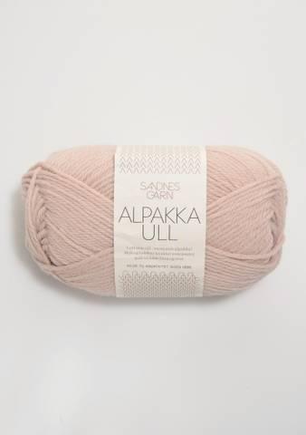 Bilde av 3511 Pudder Rosa - Alpakka Ull