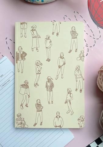 Bilde av PetiteKnit Knitting Journal - Petit Signatur
