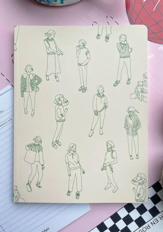 Bilde av PetiteKnit Knitting Journal - Grand Signatur