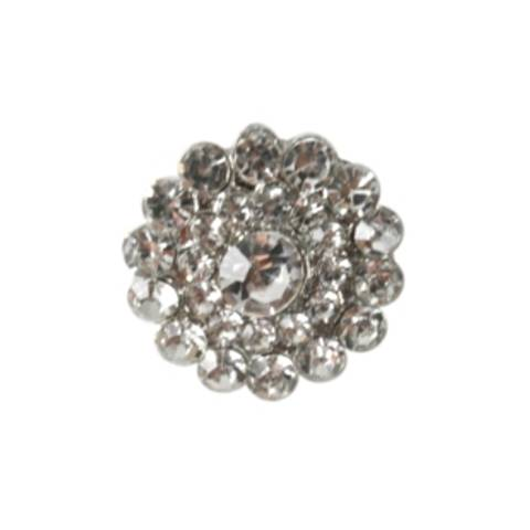 Bilde av KN460 Knapp metall/diamanter 21mm