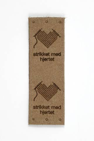 Bilde av Symerke strikket med hjertet