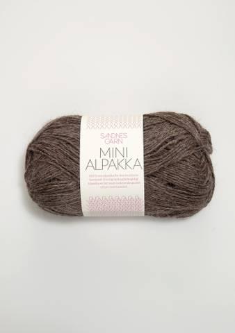Bilde av 2652 Mellombrun melert - Mini Alpakka
