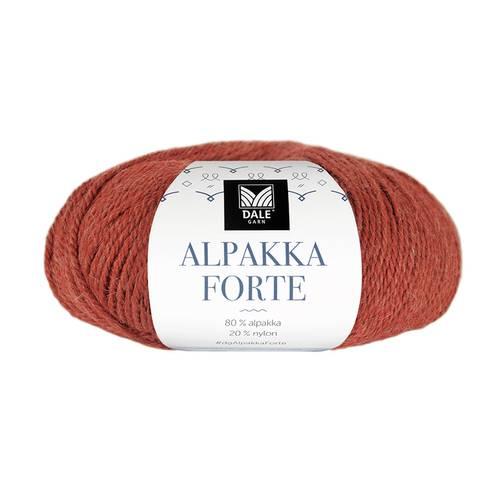 Bilde av 703 Varm Terracotta melert - Alpakka Forte