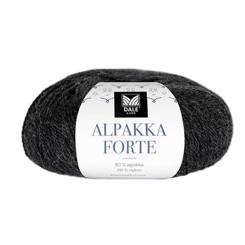 Bilde av 710 Koks melert - Alpakka Forte