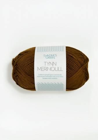 Bilde av 2564 Gyllenbrun - Tynn Merinoull