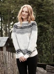 Bilde av Rauma Garn - Setesdalsgenser - dame strikkepakke