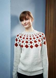 Bilde av Rauma Garn- Rundfelt genser strikkepakke