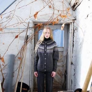 Bilde av Rauma Garn -  Spiret jakke dame strikkepakke