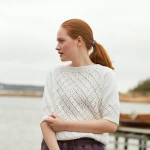 Bilde av Rauma-Garn - 382-5 Violatopp strikkepakke