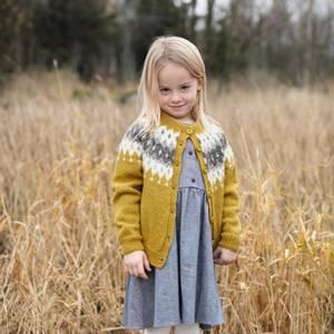 Bilde av Rauma Garn - Vardejakke barn strikkepakke