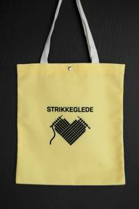 Bilde av Strikkenett strikkeglede gul 4723