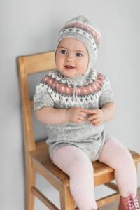 Bilde av Rauma Garn - Vardebody med korte ermer ,