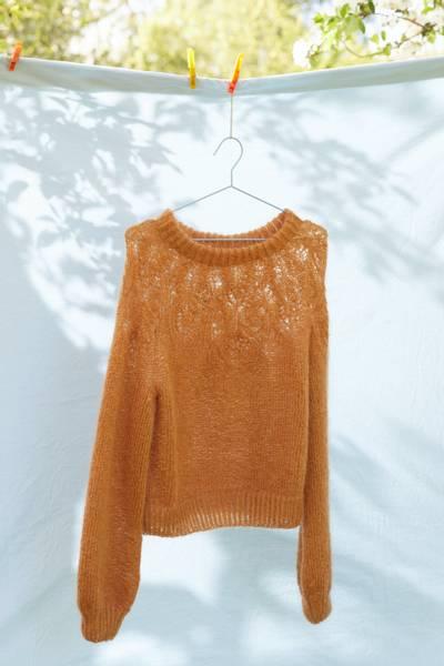 Rauma Garn - Villblomstgenser strikkepakke