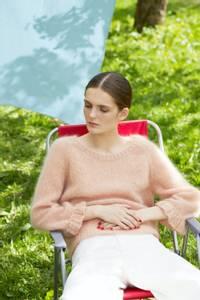 Bilde av Rauma Garn - Engklokke-genser strikkepakke