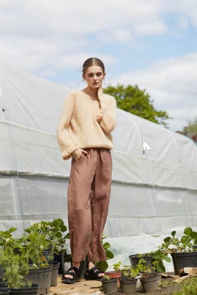 Rauma Garn - Engklokke-genser strikkepakke