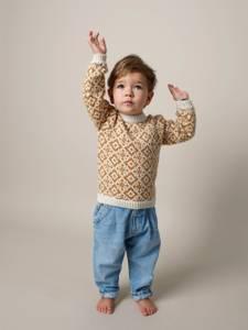 Bilde av Rauma Garn - Multegenser (Sennepsgul) barn