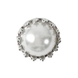 Bilde av KN457 - Metall/perle, 21mm