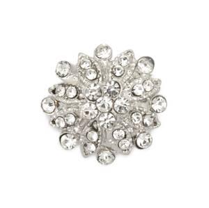 Bilde av KN458 - Metall/diamanter, 22mm