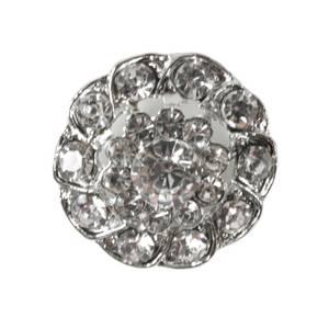 Bilde av KN461 - Metall/diamanter, 26mm