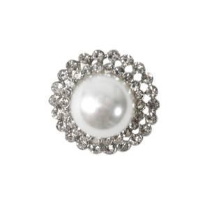 Bilde av KN463 - Metall/perle, 20mm