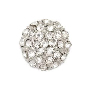 Bilde av KN465 - Metall/diamanter, 23mm
