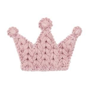 Bilde av PL101 - Tekstillapp (krone) rosa