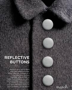 Bilde av Reflective Buttons Mini - Silver