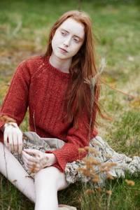 Bilde av 343 - Alpakka Lin Dame
