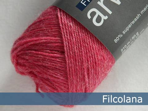 Bilde av Strawberry Pink (melange) 813 - Filcolana,