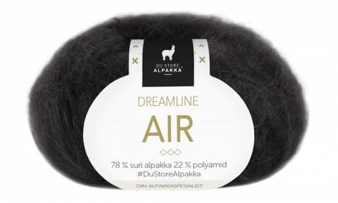 Bilde av 301 Svart - Du Store Alpakka, Dreamline Air