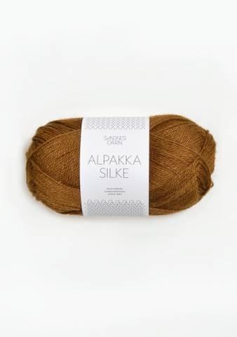 Bilde av 2564 Gyllenbrun - Sandnes Garn, Alpakka Silke