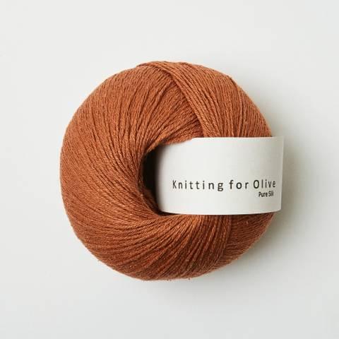 Bilde av Kobber - Knitting for Olive, Pure Silk