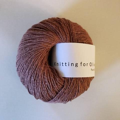 Bilde av Blommerosa - Knitting for Olive, Pure Silk