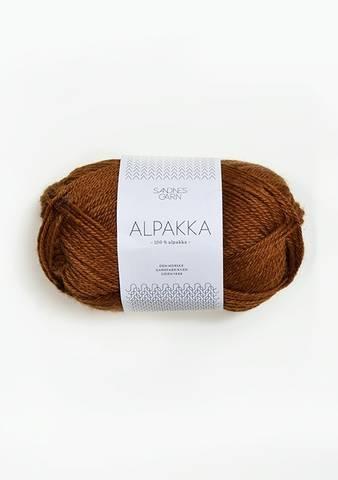 Bilde av 2564 Gyllenbrun - Sandnes Garn, Alpakka