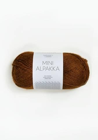 Bilde av 2564 Gyllenbrun - Sandnes Garn, Mini Alpakka