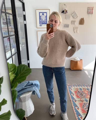 Bilde av September Sweater- Petiteknit
