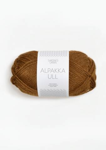 Bilde av 2564 Gyllenbrun - Sandnes Garn, Alpakka Ull