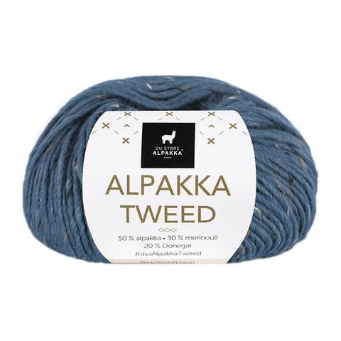 Bilde av 133 Indigo - Du Store Alpakka, Alpakka Tweed