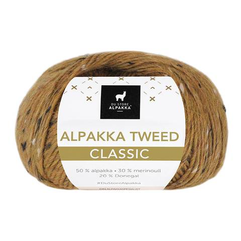 Bilde av 130 Sennep - Du Store Alpakka, Alpakka Tweed