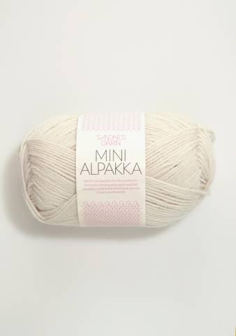 Bilde av 1015 Kitt - Sandnes Garn, Mini Alpakka