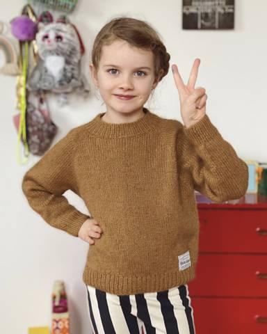 Bilde av Ingen Dikkedarer Sweater Junior - Petiteknit