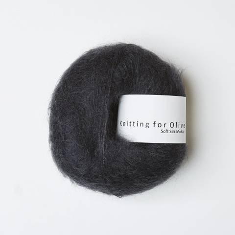 Bilde av Midnat - Knitting for Olive, Soft Silk Mohair