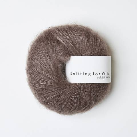 Bilde av Blomme Ler - Knitting for Olive, Soft Silk Mohair