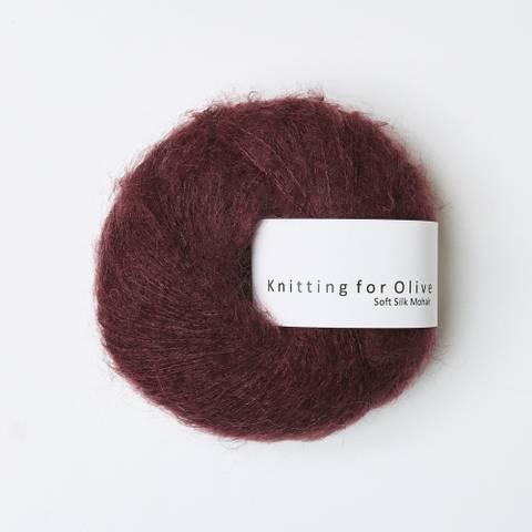 Bilde av Bordeaux - Knitting for Olive, Soft Silk Mohair