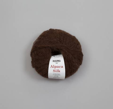 Bilde av 815 Brun - Rauma Garn, Alpaca Silk