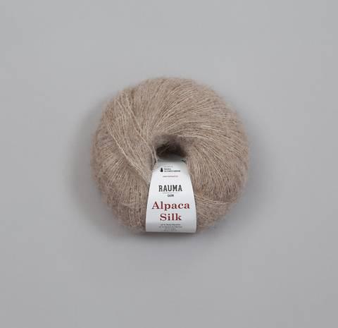 Bilde av 1315 Lys Beige - Rauma Garn, Alpaca Silk